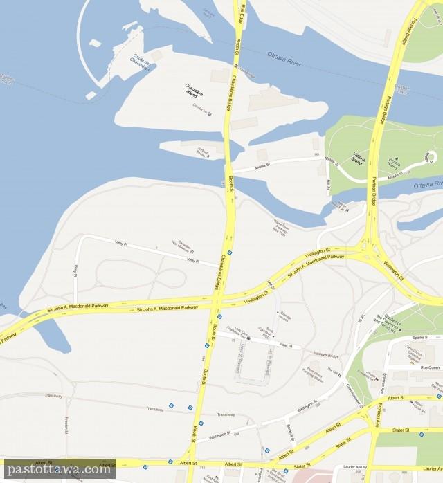 Carte des Plaines Lebreton en 2012