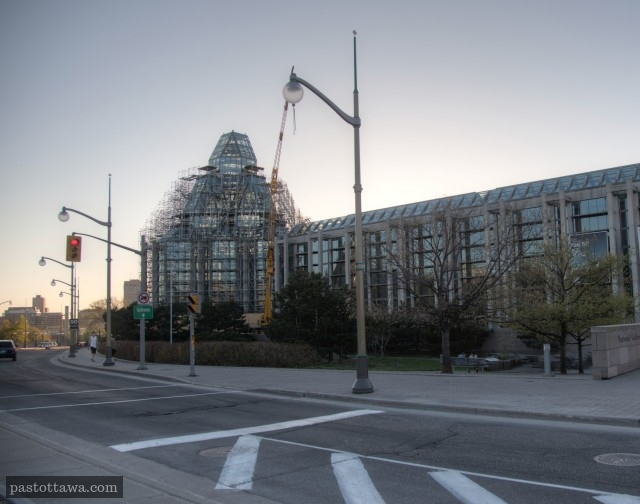 Le musée des beaux-arts sur la rue St-Patrick à Ottawa