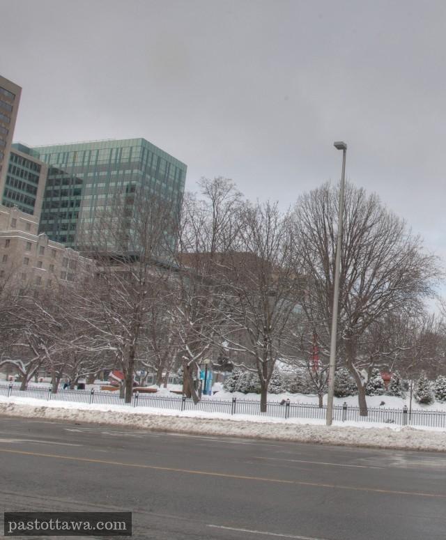 Le parc de la confédération à Ottawa en 2014