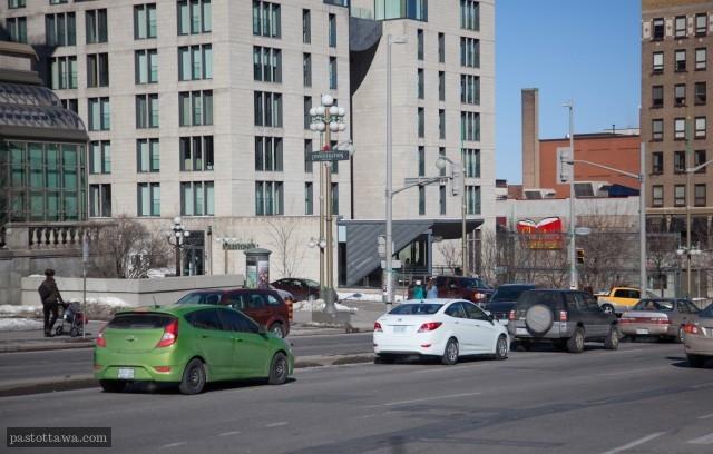 Rideau Street in Ottawa