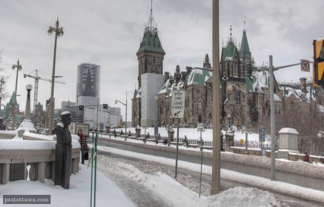 Pont Plaza à Ottawa en hiver 2014