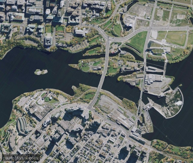 Arial View of Hull-Ottawa