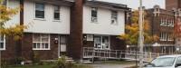 Modest dwellings on Beausoleil Drive in Ottawa in 1968