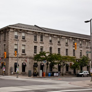 Corner of Sussex Drive and George Street in 2012