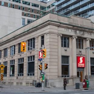 Banque Nova Scotia sur la rue Bank à Ottawa