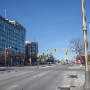 Elgin Street at Albert Street