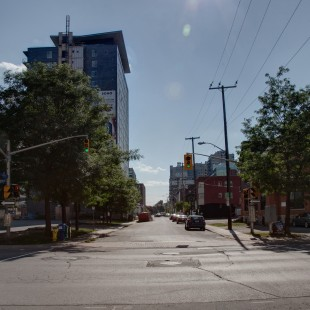 Lisgar street at O'Connor in Ottawa in 2013