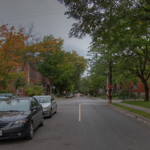 Daly Street in Ottawa in 2013