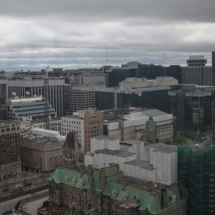 Downtown Ottawa in 2013
