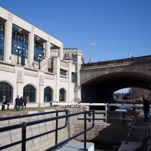 Ecluses du canal Rideau en 2012