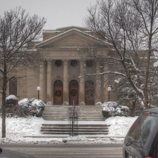 First Church of Christ on Metcalfe Street in Ottawa around 2013