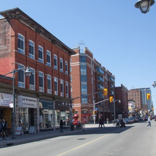 Bank Street @ Gilmour street in Ottawa