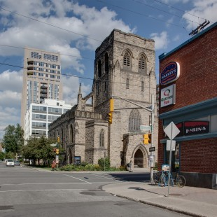 Knox Church on Elgin in the 2013 in Ottawa