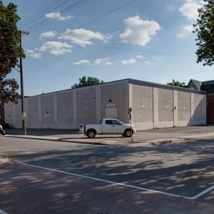 South-West Corner of Lisgar and Percy in 2013 with the Rideau Curling Club