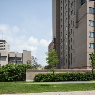University of Ottawa's residences.
