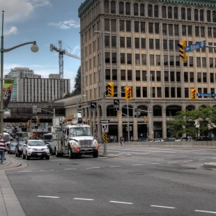 Rideau Street and Mackenzie Avenue Intersection in Ottawa