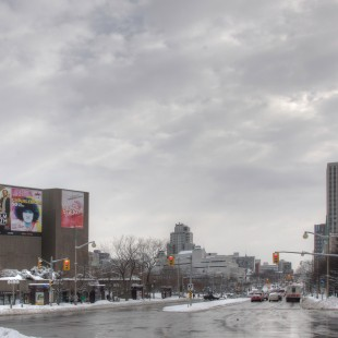 Elgin Street with the NAC